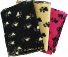 LARGE PET BLANKET FOR DOG CAT BED SOFT FLEECE NEW 120x100CM