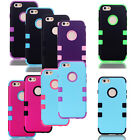 Hybrid Rubber Hard IMPACT Tuff Protective Case Skin Phone Cover For iPhone 6
