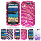 For AT&T Huawei Impulse 4G U8800 Colorful Bling Hard Case Cover Phone Accessory