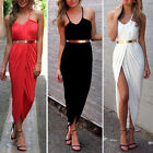 New Lady Sexy Sleeveless Maxi Summer Party Casual Dress Beach Women Clothing