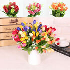 1Bouquet 10 Heads Tulip Artificial Flower Silk Flower Wedding Bridal Home Decor