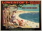 TX372 Vintage Lowestoft Oulton Great Eastern Travel Railway Poster A2/A3/A4