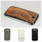 Battery Back Door Replacement Crocodile Grain For Samsung Galaxy S3 Case Cover