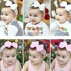 Toddler Kid Girl Baby Rose Flower Bowknot Pearl Lace Headband Hair Bow Band