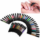 1x Vernis A Ongles Pinceau Stylo Liner Peinture 2 Usage Manucure Nail Art Tip