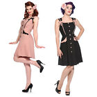 Ribbon Kitsch Rockabilly 40s 50s Vintage Pinup Party Prom Tea Dress