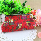New Fashion Women Lovely Style Lady Wallet Hasp Owl Purse Clutch Bag Excellent