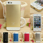 3500mAh External Battery Power Bank Backup Charger Case Cover For iPhone 5s 5 th