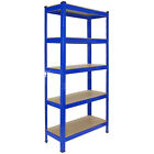 Racking Storage Shelving Heavy Duty Garage 5 Tier 75cm Steel Shelves Warehouse <br/> ✔ 1500 x 750 x 300mm ✔ FREE UK P&amp;P ✔ 150kg Per Shelf