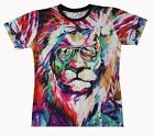 Dope Lion 3D All Over Print Tops T-shirt #WD097
