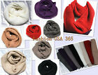 City Style Women Winter Crochet Scarf Infinity Style  Fashion Loop Wrapping
