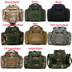 Outdoors Sports Multifunction SLR Camera Waist Shoulder Bag Pouch Military Green