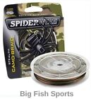 SPIDERWIRE STEALTH CAMO Braid Fishing Line 300YD SPOOLS ALL SIZES!