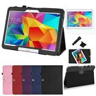 For Samsung Galaxy Tab 4 10.1 inch Tablet T530 Folio PU Leather Stand Case Cover