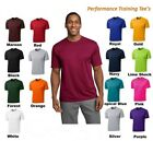MEN'S MOISTURE WICKING DRY FIT SPORT-TEK Short Sleeve T-SHIRT NEW XS-4XL ST350