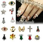 10pcs Nail Art DIY Decorations Alloy Nail Art Stickers 21 Styles to Choose