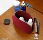 The Basic Felt Round Pouch Makeup Cosmetic Case Travel Bag Accessories Storage