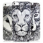 HEAD CASE DESIGNS CLEAR DOODLE ANIMAL FACES CASE COVER FOR APPLE iPHONE 5S