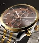KS Auto Mechanical Date Day Month 44MM Case Steel 3 Colours Mens Wrist Watch