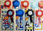 English Premier League No.1 Football Fan Man Boys Birthday Card & Rosette 19Club