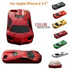 Creative 3D Sport Racing Car Model Style Glossy Case For iPhone 6/6s Plus Cover
