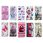 Ultra Hot Sale Synthetic Leather ID Card Wallet Stand Cover Case Skin For Phones
