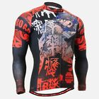 FIXGEAR CS-2801 Men's Cycling Long Jersey Road Bike MTB cycle Custom Design Top