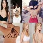 Sexy 2 X Colors Women Grils Backless Bra Crop Top Bustier Beauty Worth One