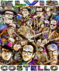 """""""ELVIS COSTELLO"""" TRIBUTE T-SHIRT OR PRINT BY ED SEEMAN"""