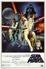 Star Wars Episode IV 4 A New Hope - Classic Movie Poster 24x36 Vader Skywalker