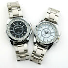 UK CH Quartz Diamond Inlay Womens Watch Stainless Steel Band Elegant Cheap Mens