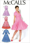 McCall's 7081 Sewing Pattern to MAKE Dress w/Front Pleat Top & Cross Grain Skirt