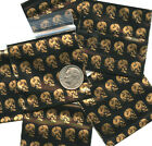 "Golden Skulls baggies 2 x 2"" Apple minizips 100 200 500 1000 reclosable"