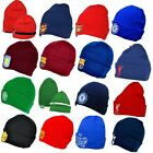 OFFICIAL FOOTBALL TEAM CLUB CREST KNITTED KNIT CUFF BRONX HAT HATS CAP GIFT XMAS