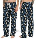 BBC Doctor Dr Who Tardis Police Call Box Print Mens Lounge Pajama Pants XS-SM