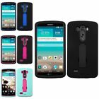 Hybrid Armor Impact Rugged Stand Heavy Duty Hard Case Cover For LG G3