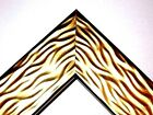 "2"" Wide Gold Wave Wood Canva Picture Frame-Custom Made Standard Sizes"