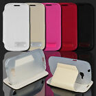 PU Leather Cover Case For Samsung Galaxy Fresh Lite Trend Duos GT S7390 S7392