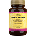 Solgar Female Multiple Tablets Choice of Supplys One Bottle Supplied