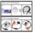 Mini CCTV Security Spy Camera Clock Smoke Alarm Hidden Video Recorder Camcorder