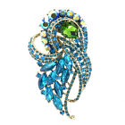 8 color Bridal Wedding Brooch Broach Pin Rhinestone Crystals Jewelry 4243