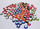 144 SWAROVSKI Foiled Flatback Crystals SS12 - AB & Special Colours- GREAT PRICE