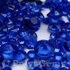 ROYAL BLUE WEDDING TABLE DIAMONDS SCATTER CRYSTALS