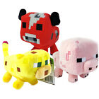 "Minecraft 7"" Soft Toy Animal Mobs Choice of Plush One Supplied NEW"