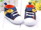 Toddler Baby Boys Girls Soft bottom Crib Shoes Sneakers Size 0-12 Months /V