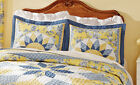 Collections Etc French Star Quilted Pillow Sham