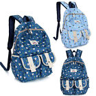 2015 New Fashion Girl Womens Canvas Travel Satchel Shoulder Bag Bookbag Backpack