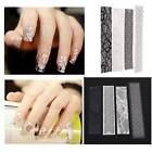 Lot 1/4 Ongle Stickers 3D Nail Art Dentelle Tips Manucure Autocollant Décal DIY