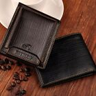 Bifold Wallet Men's Leather Credit/ID Card Holder Slim Purse Gift