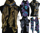 AU SELLER Womens Soft leopard Print Wrap SCARF/SHAWL Beach Sarong Cover Up sc034